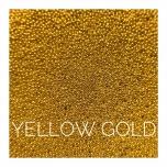METALLIC BALLS YELLOW GOLD 0,6mm