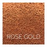 METALLIC BALLS RED GOLD 0,6mm