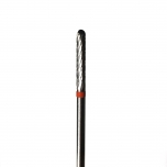 CARBIDE DRILL BIT THIN LONG RED